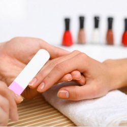 essentials spa hamilton manicure